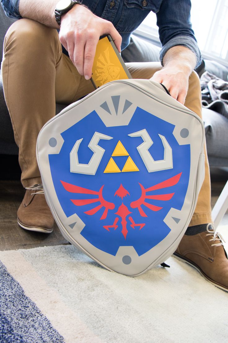 The Legend of Zelda - Hylian Shield Shaped Backpack