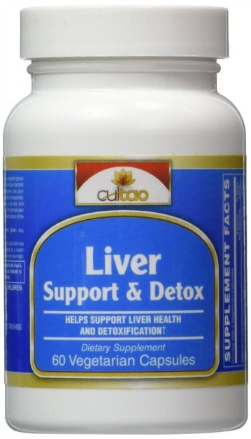 CulTao Premium Liver Support & Detox Cleanse Supplements