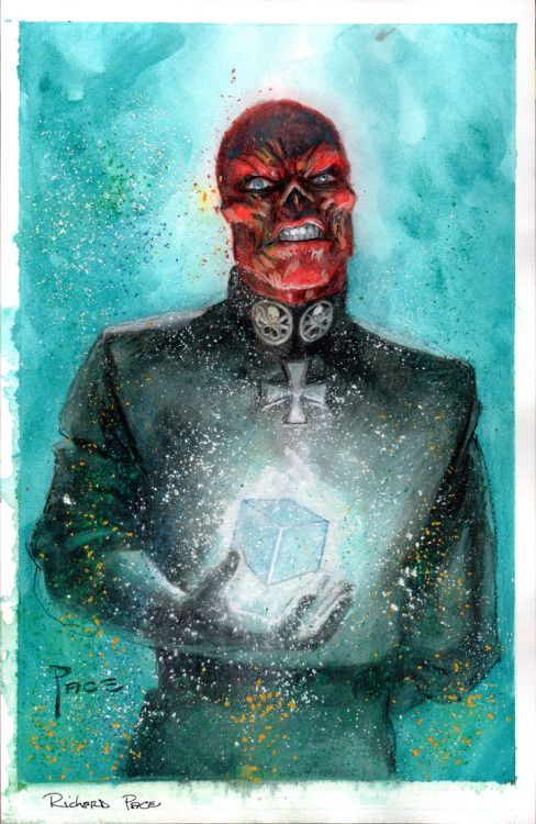 imthenic:  Red Skull by RichardPace