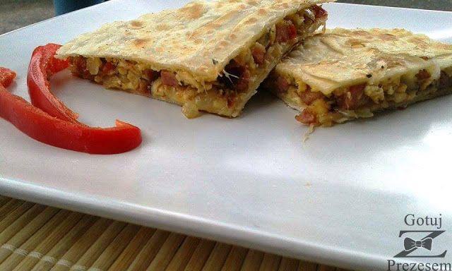 Gotuj z Prezesem: Quesadilla na śniadanie!