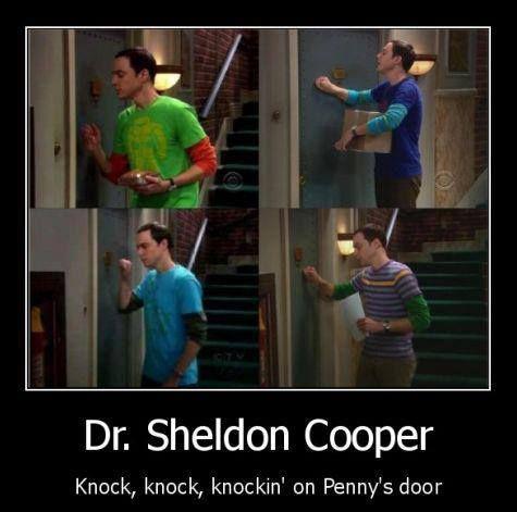 Dr. Sheldon Cooper…