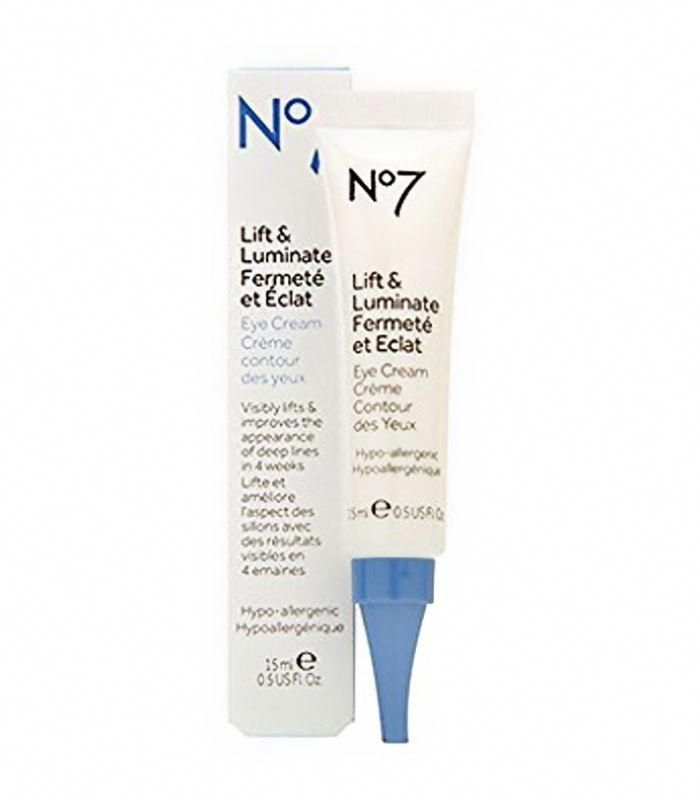 Boots No7 Lift and Luminate Eye Cream #Acnetreatment | Acne