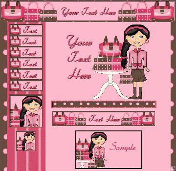 #Pink #Purse #Webset