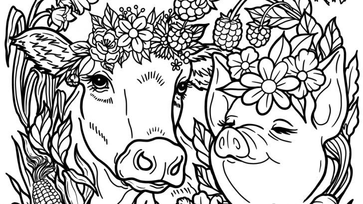 Printable Vegan Coloring Page A Mindfulness Activity For Kids Coloring Pages Cute Coloring Pages Hidden Picture Puzzles