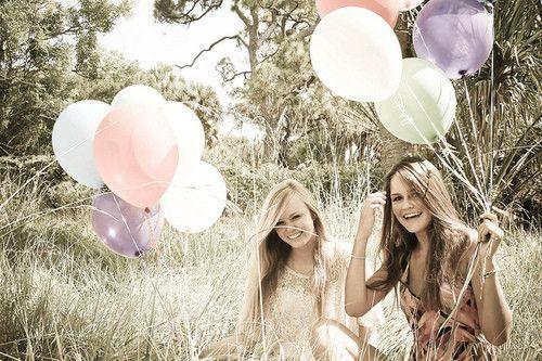Vriendinnen zijn speciaal, gaaf in de zomer!