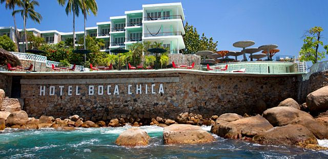 #ARCHITECTURE :: revitalised Hollywood glamour with a contemporary chic twist - Hotel Boca Chica Acapulco