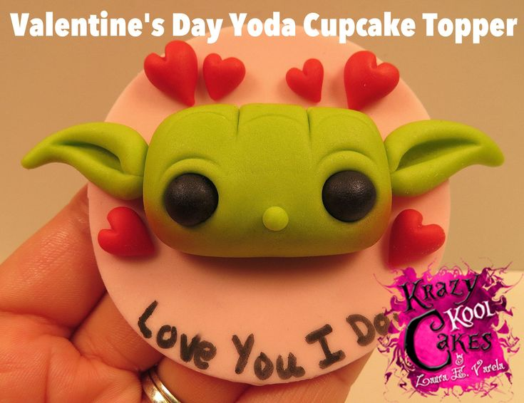 how to make a yoda cake topper