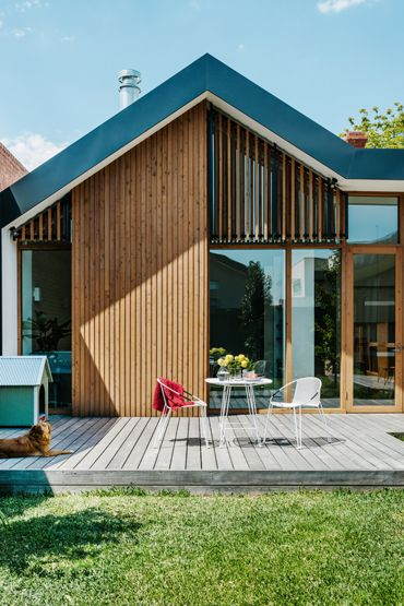 architags - architecture & design blog — Clare Cousins Architects. Brunswick House....