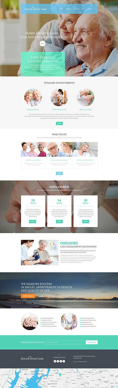 """WordPress Theme namens """"Sozialhilfe für Senioren"""""""