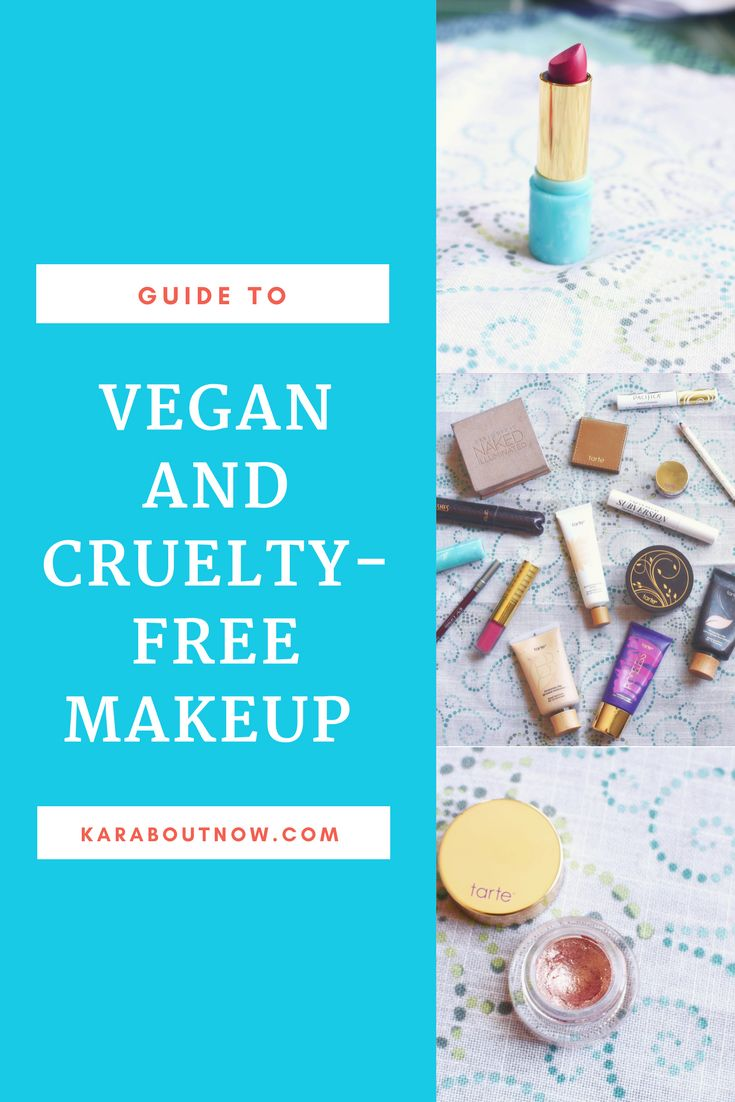 Guide to vegan and cruelty-free makeup l vegan cosmetics l cruelty-free cosmetics l check back often as this post will be updates as I discover more exceptional products l vegan beauty l cruelty-free beauty l karaboutnow.com l vegan made easy l pacifica l urban decay l taste