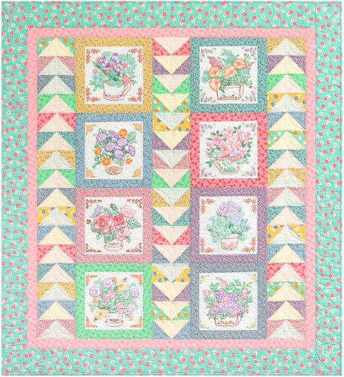 Quilt Patterns With 3 Fabrics : 80 best images about Panel quilts on Pinterest Free pattern, Quilt and Quilting fabric