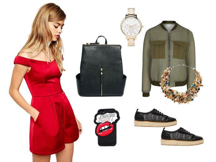 Модный гардероб для девушки овна