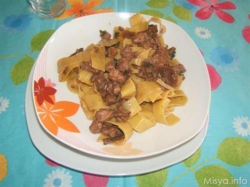 Pappardelle ai funghi porcini. Scopri la ricetta: http://www.misya.info/2008/10/27/pappardelle-ai-funghi-porcini.htm