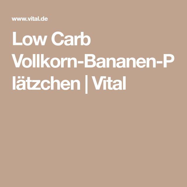 Low Carb Vollkorn-Bananen-Plätzchen | Vital