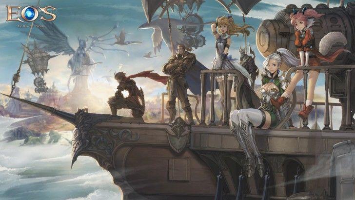Download Echo of Soul MMORPG Art Fantasy HD Wallpaper 1920x1080