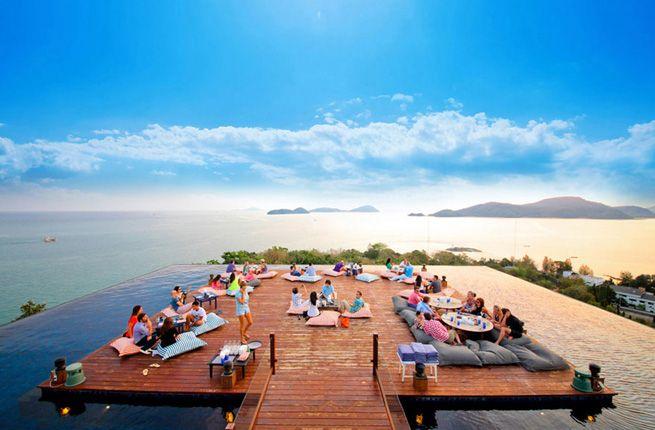 16 Best Beach Bars in the World: Baba Nest, Phuket, Thailand