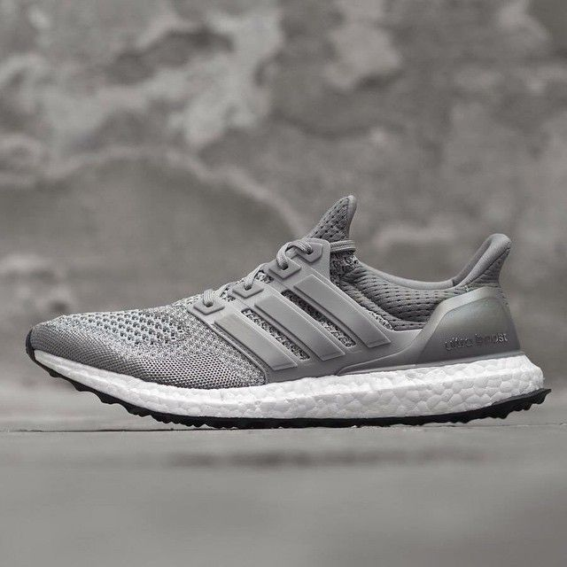 Adidas Ultra Boost Gray Mens