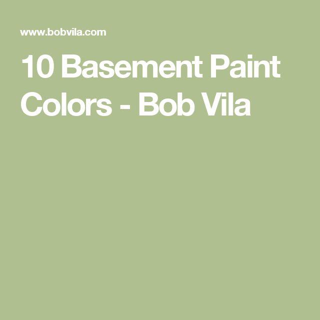 10 Basement Paint Colors - Bob Vila