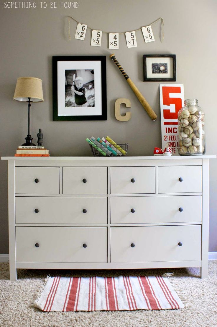 Savvy Southern Style: Wow Us Wednesdays #177 Like the baseball decor...tastefully done