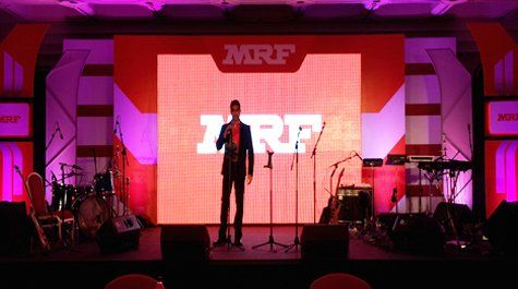 MOTIVATIONAL ENTERTAINMENT. 250 of MRF Tyres' Sales force experienced the amazing power of our Minds. So, when is Your next event?! ;)