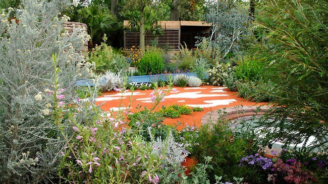 An Australian Garden winner at the Chelsea Flower Show, I love the contrast in colours of the desert and the foliage.