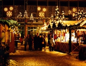 Weihnachtsmarkt; Aschaffenburg, Deutschland
