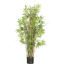 Silk 5-foot Bamboo Grass Plant
