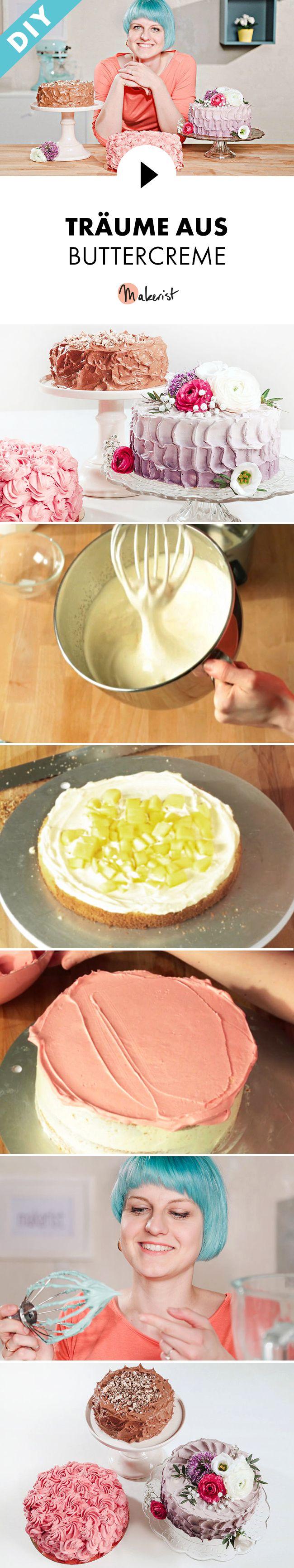 Petit beurre kuchen mit buttercreme