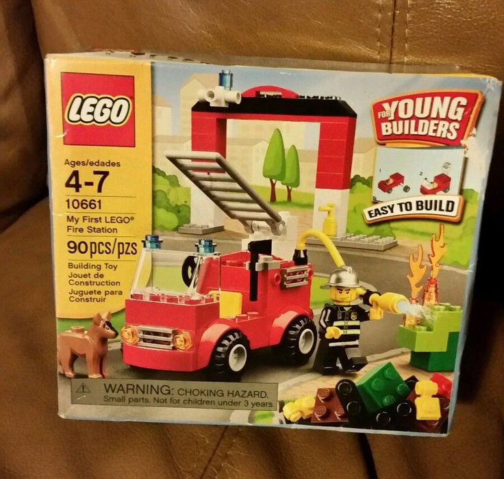 Lego 10661 My First Fire Station Young Builders 90 Pieces  #LEGO