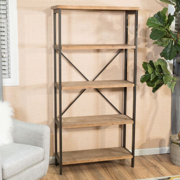"Mercury Row Parthenia 69"" Etagere Bookcase & Reviews 