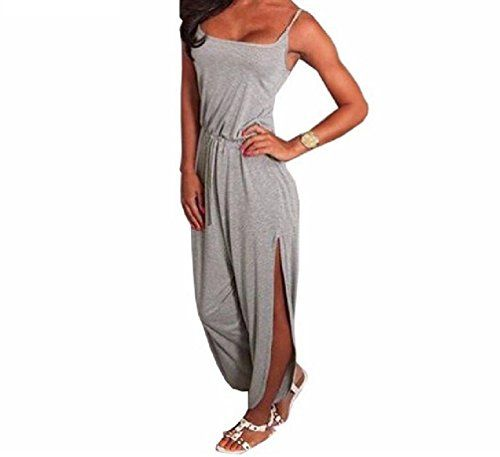 WSPLYSPJY Womens Off One Shoulder Stripe Bodycon Long Playsuit Romper