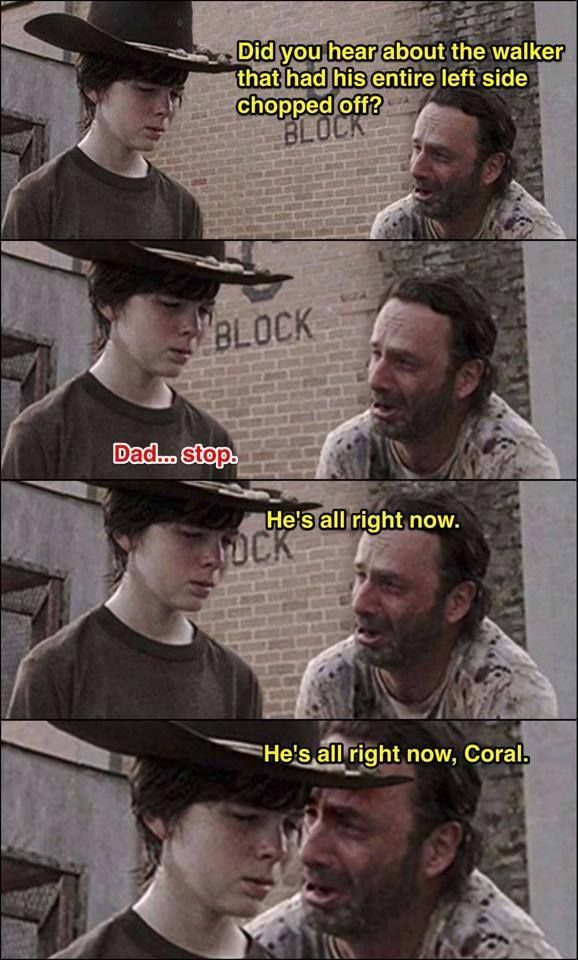 TWD funny | OMFG I cracked up laughing. too much lol :,-D | The Walking Dead
