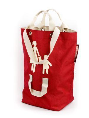 Mamma/barn bag - väska med handtag i olika höjd