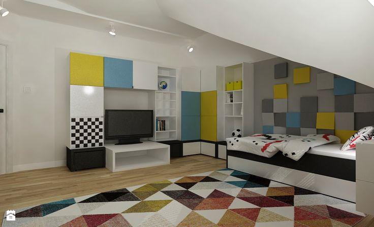 Wystrój wnętrz - Pokój dziecka - pomysły na aranżacje. Projekty, które stanowią prawdziwe inspiracje dla każdego, dla kogo liczy się dobry design, oryginalny styl i nieprzeciętne rozwiązania w nowoczesnym projektowaniu i dekorowaniu wnętrz. Obejrzyj zdjęcia! - strona: 4
