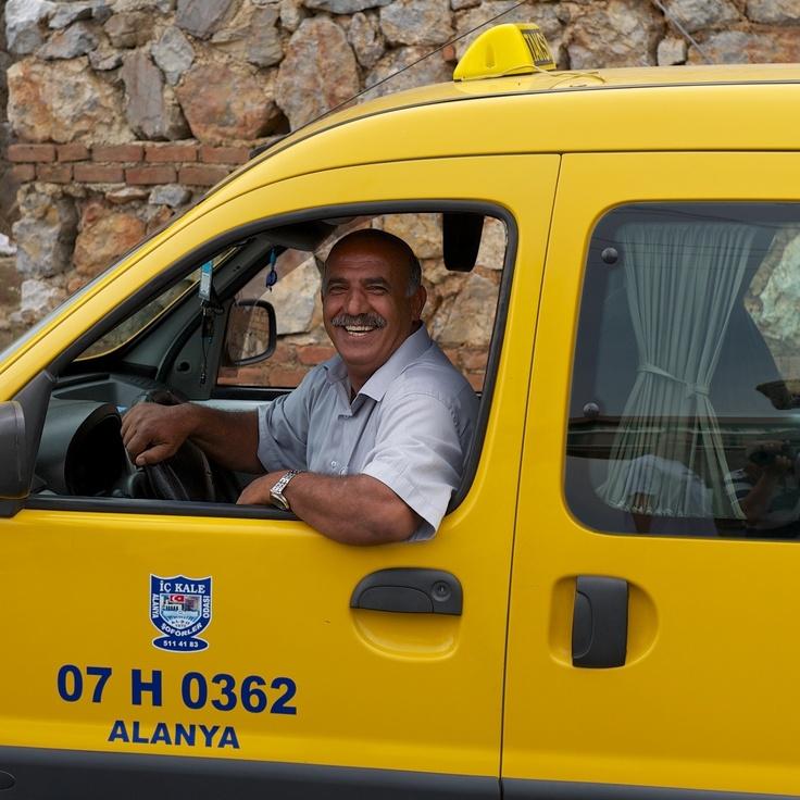 TAKSI driver in Alanya, Turkey.