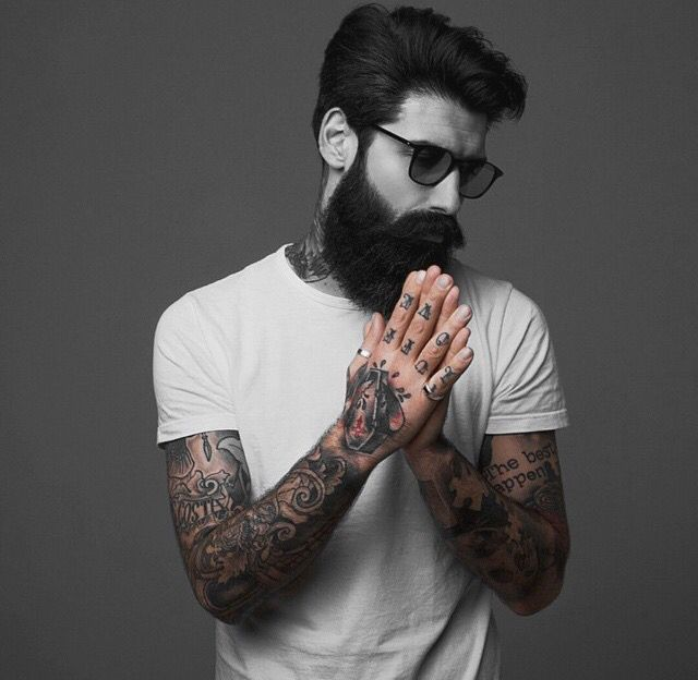 Tattoo Designs Gents: 47 Best MEN: Inked, Bearded With Glasses Images On