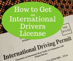 Getting your international drivers license allows you the freedom to explore your own. Driving a rental car is a great way to enjoy visiting another country
