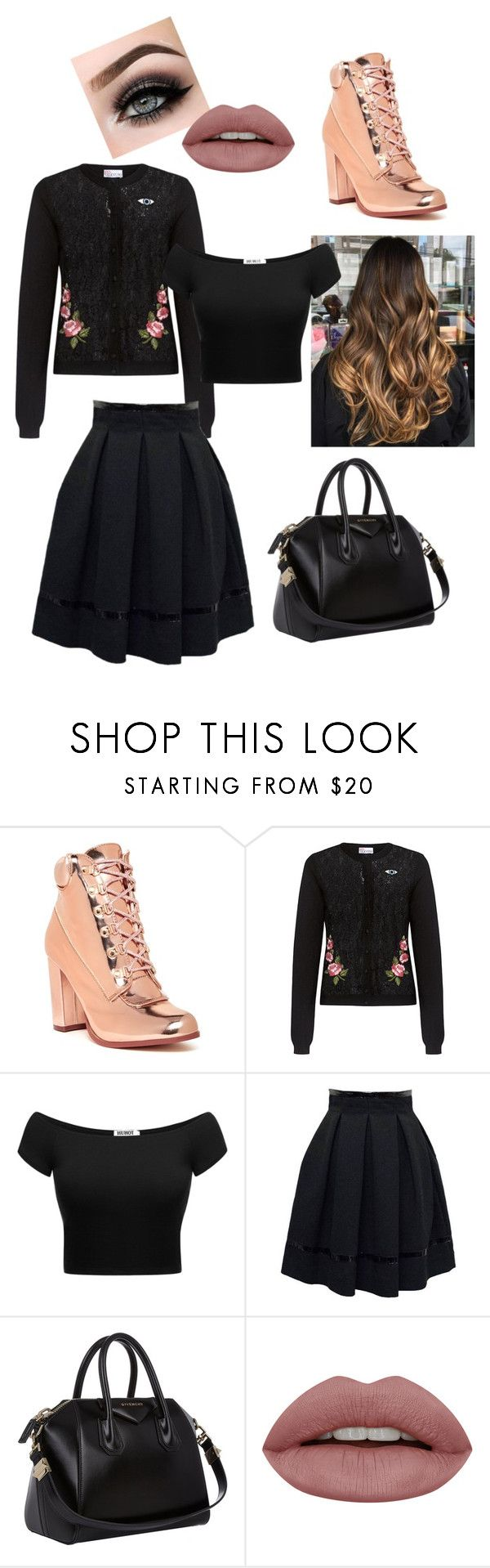 """""""Curious Class"""" by heather-sparkles-ferrell ❤ liked on Polyvore featuring Cape Robbin, RED Valentino, Tamara Mellon, Givenchy and ASAP"""