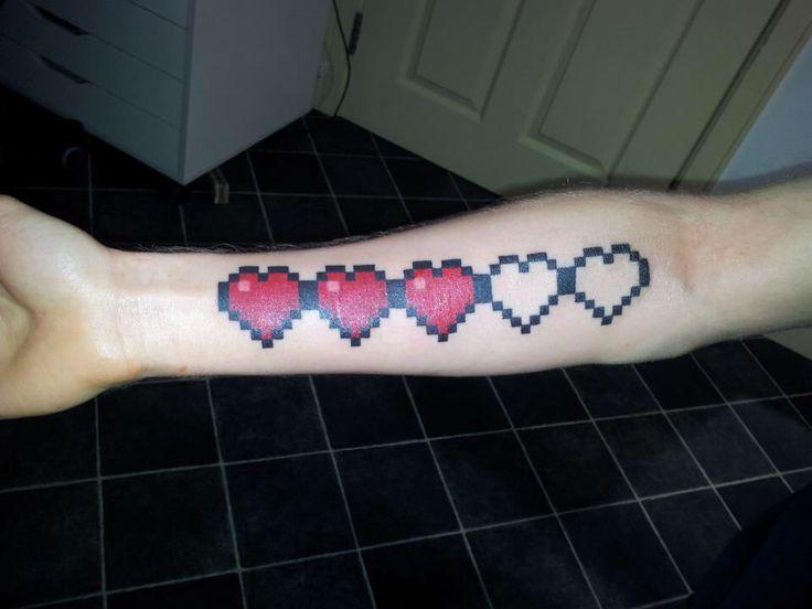 Minecraft health tattoo   Easton - 37.5KB
