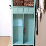 want to make this! DIY Furniture Plan from Build a locker cabinet ...