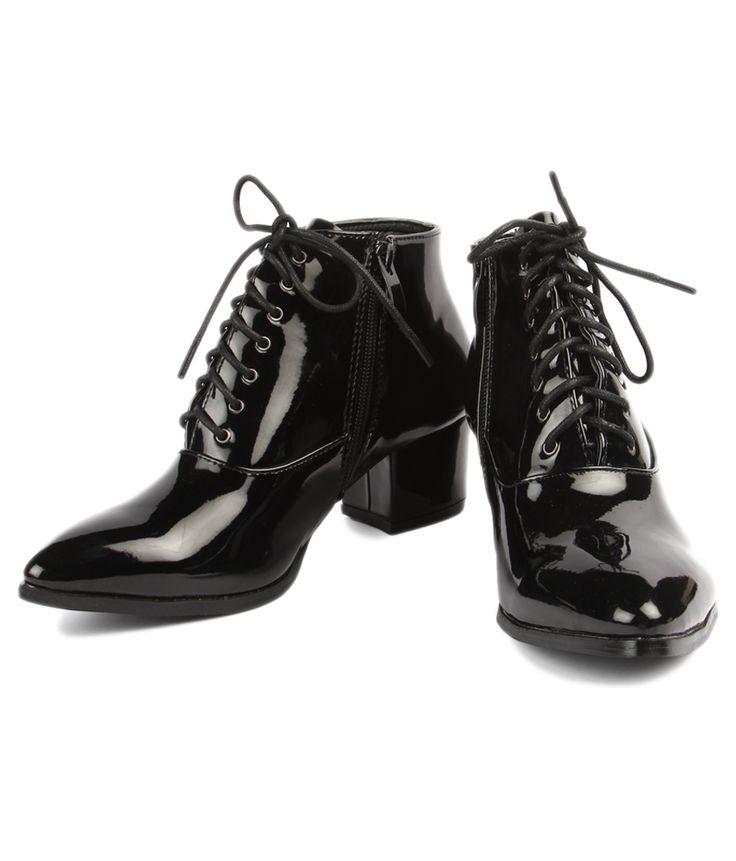 Footash Black Boots