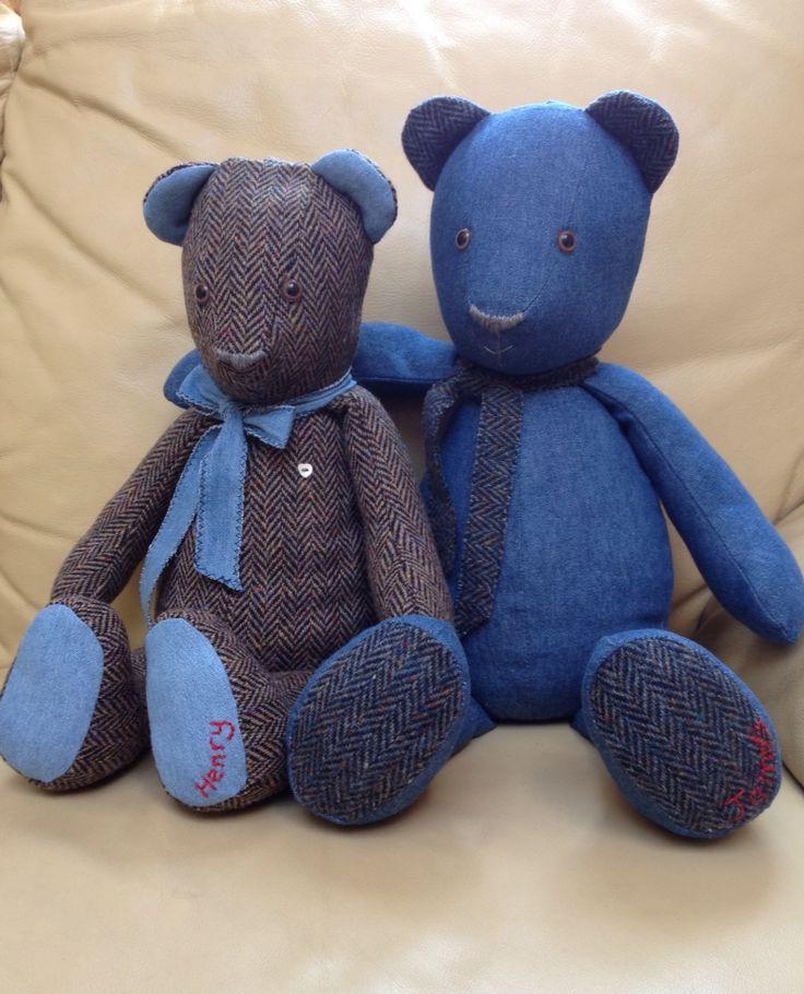 Tweedy Bear and his Denim Buddy
