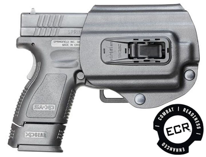 Viridian Right TacLoc Holster for Springfield XD/XDm 9/40/45 w/ Viridian X Series ECR Equipped