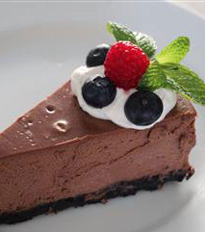 Chocolate Cappuccino Cheesecake | ♛ Chocolate ♛ | Pinterest