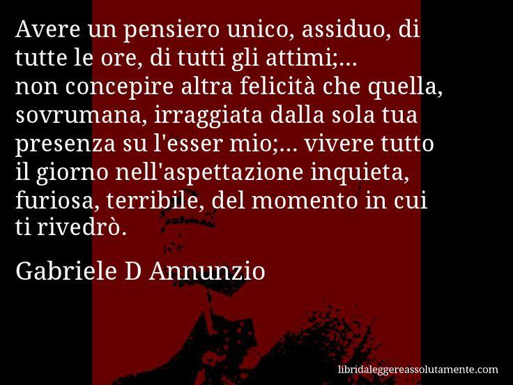 Cartolina con aforisma di Gabriele D Annunzio (38)