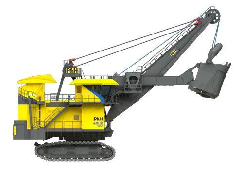 Kõige, kõige, kõige: 4800XPC Shovel | Joy Global Surface Mining