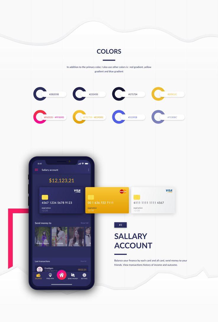 Adobe XD UI - Personal Finance