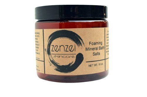 Zenzei Skincare Dead Sea Mineral Foaming Bath Salt - 16oz. by Zenzei Skincare. $8.50. Has over 84 trace minerals including Calcium, Magnesium, Potassium, Copper and Iron. Zenzei Skincare Dead Sea Mineral Foaming Bath Salt - 16oz. By The Midwest Sea Salt Company. Hand-mined with respect for Nature, the environment, the bio-energetic properties and the workers.. Provides  therapeutic benefits for a number ailments such as, eczema, psoriasis, rheumatoid arthritis, sinus...