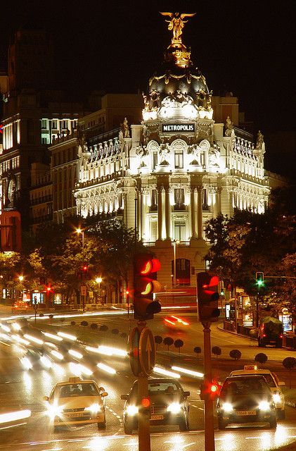 Metropolis - Madrid, Spain.... extremely sexy city #travelbucketlist
