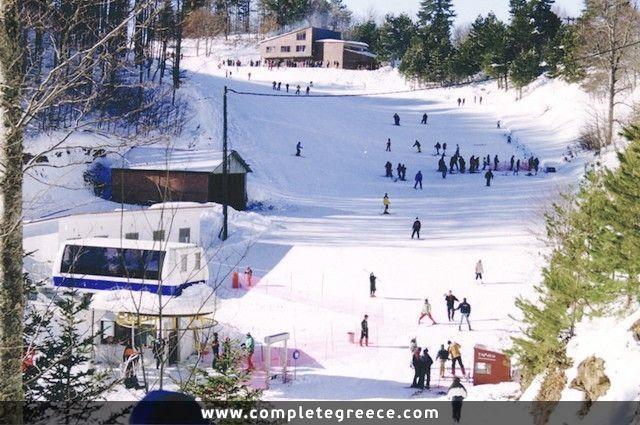 Ski resort Elatochori - Katerini - Pieria - #Greece